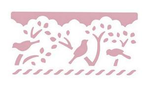 Dziurkacz ozdobny brzegowy - 608 018 XL - ptaki x1