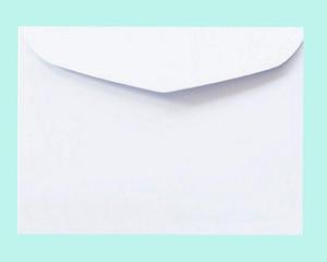 Koperta B6 NK 100g Lessebo bianco x10