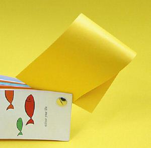 Rainbow A4 80g 18 żółty x500