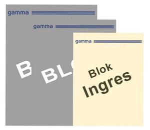 Blok malarski Ingres 22,5x32,5 90g nr 14 15k x1