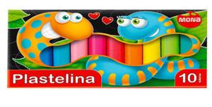 Plastelina Mona 10 kol. x1
