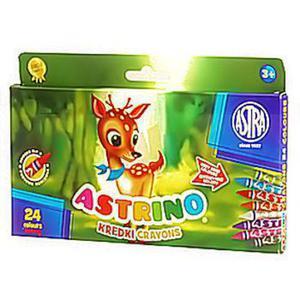 Kredki świecowe Astrino 24 kol x1