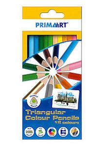 Kredki Prima Art trójkątne 12 kol x1