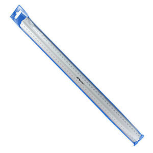 Linijka aluminiowa dwustronna z uchwytem 50cm x1