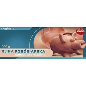 Glina samoutwardzalna 0,5kg Mona - terrakota x1