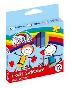 Kredki świecowe Fiorello 12 kol x1