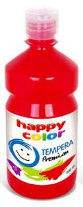 Farba tempera Happy Color 500ml - czerwona x1