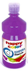 Farba tempera Happy Color 500ml - fioletowa x1