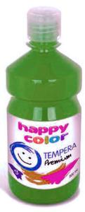 Farba tempera Happy Color 500ml - zielona jasna x1