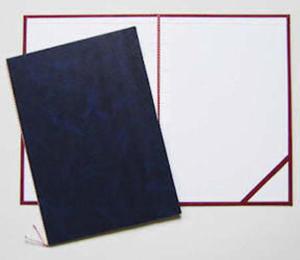 Okładka do dyplomu bez napisu granatowa x1 - 2863791143