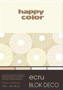 Blok A4 Happy Color Deco Ecru 170g 20k x1
