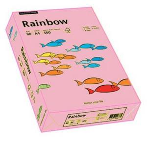 Rainbow A4 80g 55 różowy x500