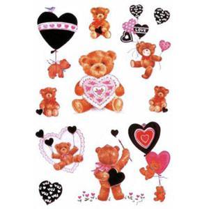 Naklejki HERMA Decor 5404 misie LOVE x1