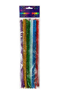 Druciki kreatywne 30cm metalizowane x25