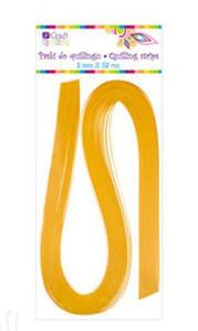 Paski do quillingu 3mmx53cm 014 żółte x100