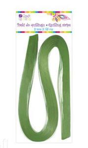 Paski do quillingu 3mmx53cm 021 zielone x100