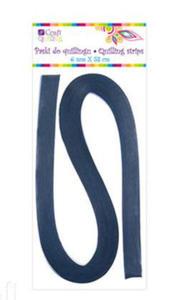 Paski do quillingu 6mmx53cm 030 niebieskie x100