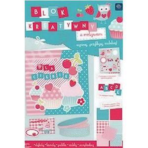 Blok papierów kreatywnych A4 Interdruk Pastel x1