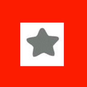 Dziurkacz ozdobny 1,6 cm - gwiazdka x1