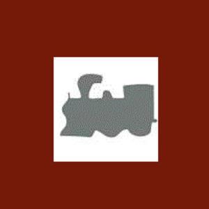 Dziurkacz ozdobny 1,6 cm - lokomotywa x1