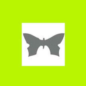 Dziurkacz ozdobny 1,6 cm - motyl x1