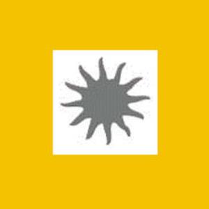 Dziurkacz ozdobny 1,6 cm - słońce x1