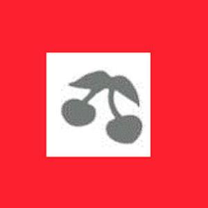 Dziurkacz ozdobny 1,6 cm - wiśnie x1