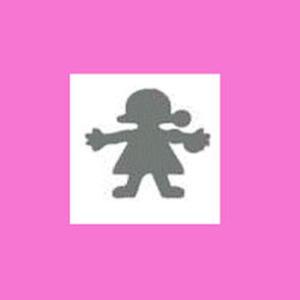 Dziurkacz ozdobny 1,6 cm - dziewczynka x1