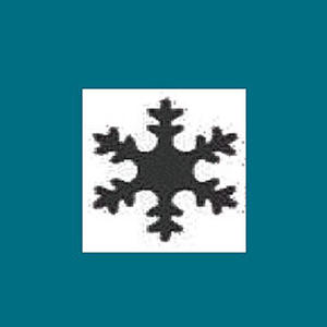 Dziurkacz ozdobny 2,5cm - śnieżynka x1