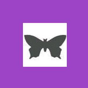 Dziurkacz ozdobny 2,5cm - motyl x1