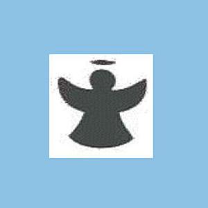 Dziurkacz ozdobny 2,5cm - anioł x1
