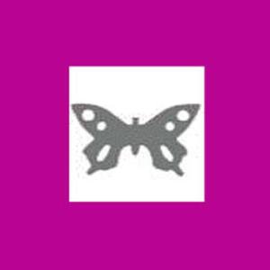 Dziurkacz ozdobny 2,5cm ażurowy - motyl x1