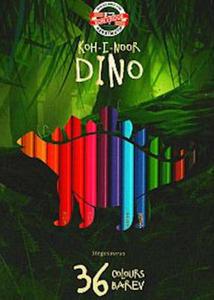 Kredki Koh-I-Noor Dino 36 kol x1