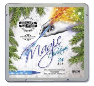 "Kredki Koh-I-Noor Magic ""3w1"" metal.opak x24"