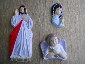 Forma do odlewów gipsowych A-F1-1 Jezus x1 - 2824969293