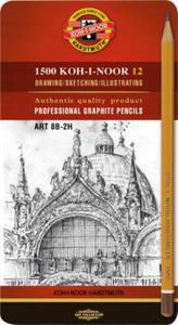 Ołówki techniczne 1502/II Koh-I-Noor Art x12 - 2863791144
