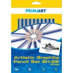 Zestaw ołówków Prima Art 8B-2H 12e x1 - 2880758598