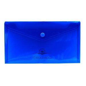 Koperta plastikowa DL Pukka niebieska x2