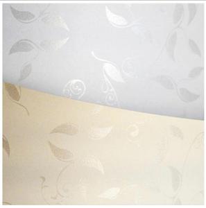 Papier ozdobny A4 100g Liana biały x50 - 2824969759