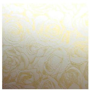 Papier ozdobny A4 100g Róże kremowy x50 - 2824969776