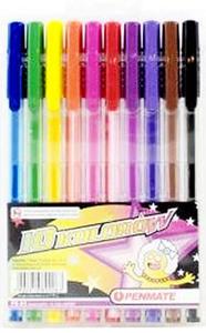 Długopisy Penmate PB-80 10kol x1