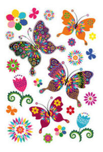 Naklejki HERMA Magic 3174 kolorowe motyle x1