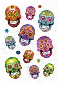 Naklejki HERMA Magic 3171 kolorowe czaszki x1