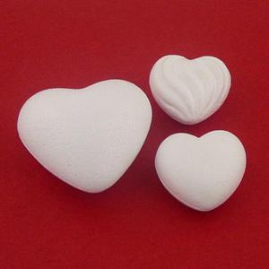 Styropianowe serca Bovelacci 70mm x6 - 2824969823