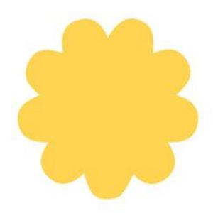 Dziurkacz ozdobny 110B - M25 - kwiatek x1