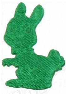 Aplikacje 1mb zajączki zielone 55e x1 - 2824969891