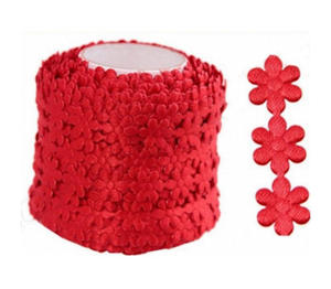 Aplikacje 1mb kwiatki małe czerwone 100e x1 - 2824969898
