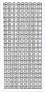 Sticker srebrny 13970 - szlaczki x1
