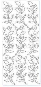 Sticker złoty 01915 - gałązki x1