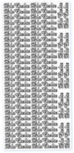 Sticker złoty 02837 - dla ciebie x1